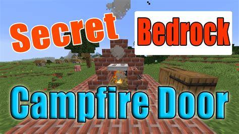 minecraft hidden campfire door bedrock version update