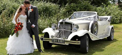 Beauford wedding car hire from Herts Limos