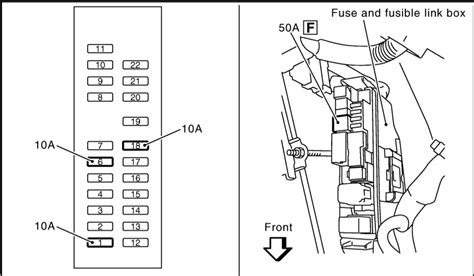 repair windshield wipe control 2003 infiniti g35 lane departure warning 2002 nissan quest central junction fuse box diagram 2002 mazda millenia fuse diagram wiring