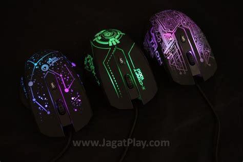 review powerlogic x craft series mouse gaming murah