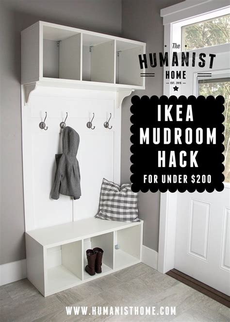 ikea entryway hack 17 best ideas about ikea mudroom ideas on pinterest