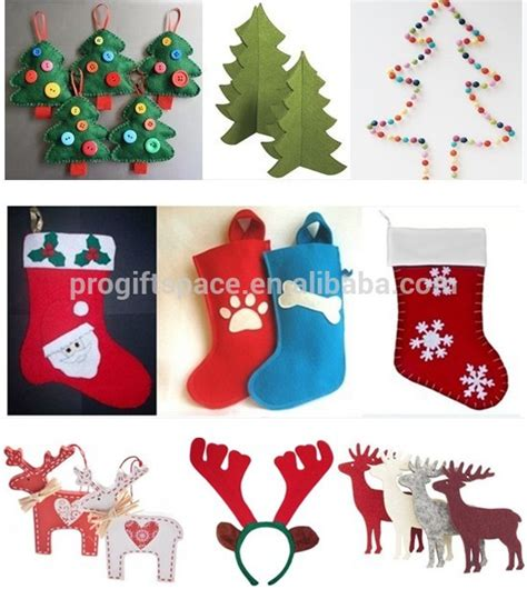 2015 new wholesale handmade gifts tree ornament sock