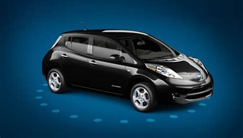 leaf nissan black nissan leaf diary selfficiency