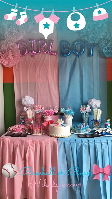 Baby Shower Gender Reveal Themes by Gender Reveal Baby Shower Theme Www Topsimages