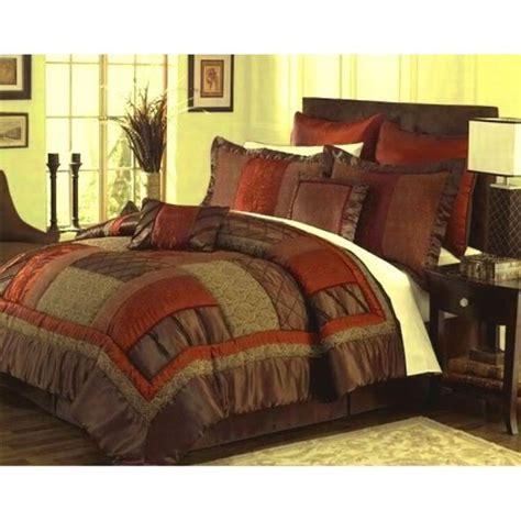 orange bed in a bag 8 best rustic orange grey bedding sets images on