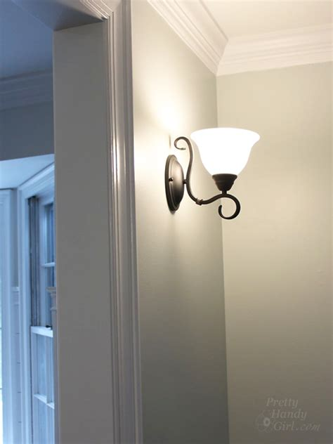 Pretty Wall Lights How To Install A Wall Sconce Light Fixture