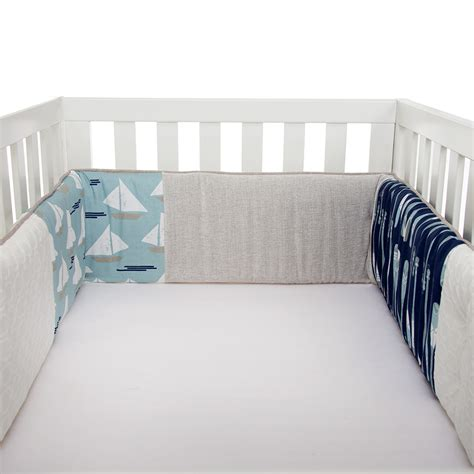 sailboat crib bedding glenna jean sailboat bumper n cribs