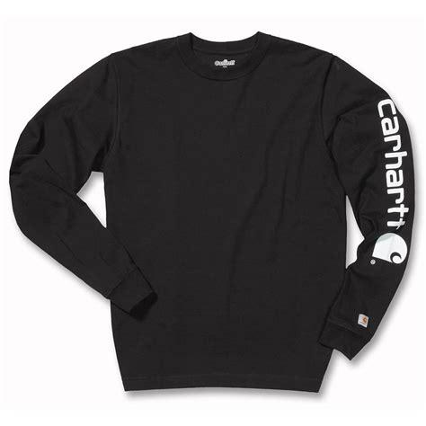 Carhartt Sleeve Logo Original carhartt ek231 sleeve logo sleeve t shirt clothing from m i supplies limited uk