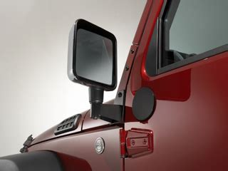 Side Mirrors For Jeep Wrangler With Doors Jeep Wrangler Mirror Relocation Brackets Part No 102504rr
