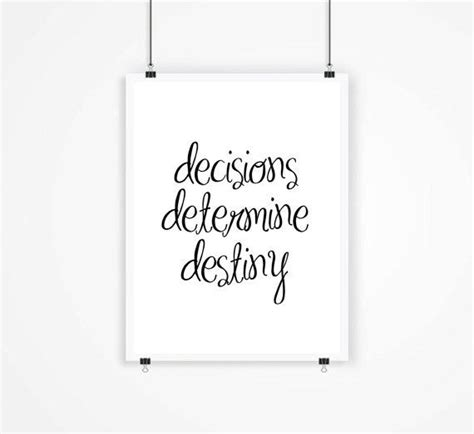 printable quot strive for from mixarthouse on etsy decision determine destiny print from mixarthouse on etsy