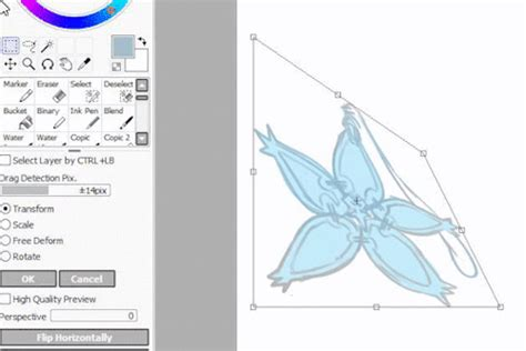 paint tool sai perspective ruler big stack o references