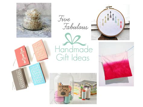 Handmade Gifts Shopping - five great ideas for easy handmade gifts owl and accordion