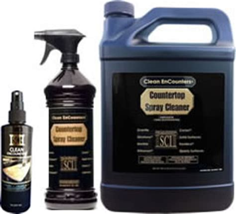 Clean Encounters Countertop Spray Cleaner by The Flor Stor Sci Tile Products