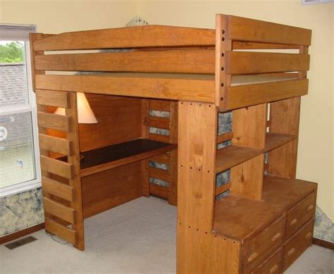 Bunk Bed With Dresser And Desk by Bunk And Loft Factory I This So Practical In A