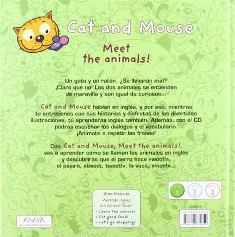 libro cat and mouse libro cat and mouse meet the animals di st 233 phane husar lo 239 c m 233 h 233 e