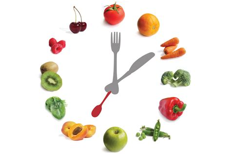 Fruit Clock by The Magnificent Seven Fruit And Vegetables Smart Restaurants