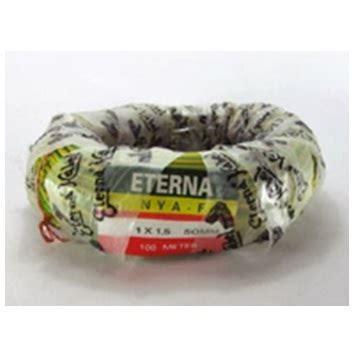 Kabel Serabut Transparan 1 Roll by Kabel Eterna Nya Kuning 1 X 1 5 1 Roll 100 Meter
