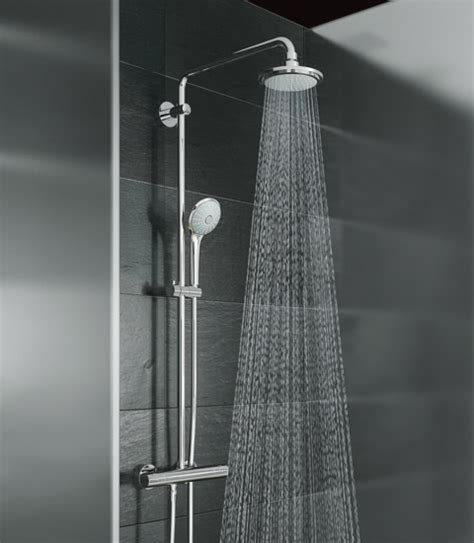 Grohe Shower by Grohe Shower Systems By Grohe Shower System For Wall