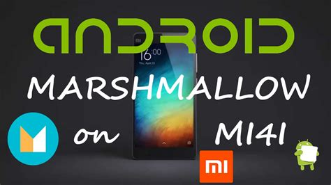 tutorial kamera xiaomi mi4i android marshmallow 6 0 on xiaomi mi4i how to install
