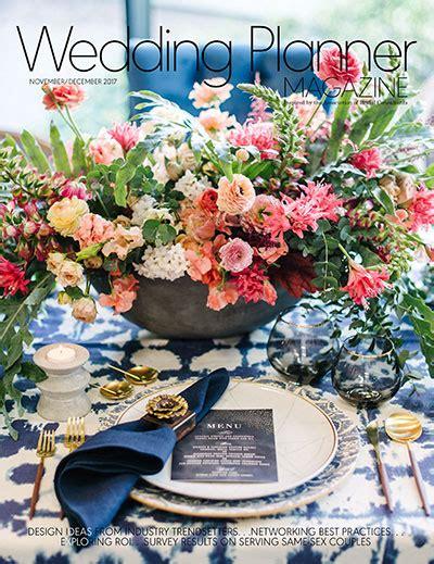wedding planner magazine subscription wedding planner magazine