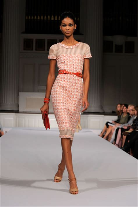chanel iman runway shake make blog chanel iman and runway