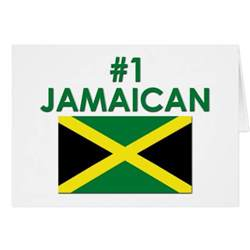 1 jamaican greeting card zazzle