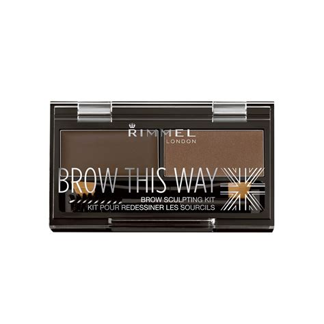 rimmel brow this way sculpting kit medium