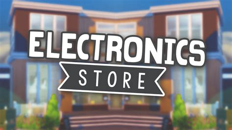 sims  speed build electronics store youtube