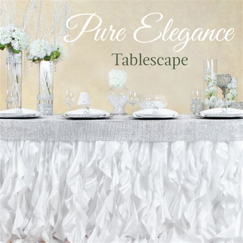 curly willow table skirt elegance tablescape featuring our curly willow table