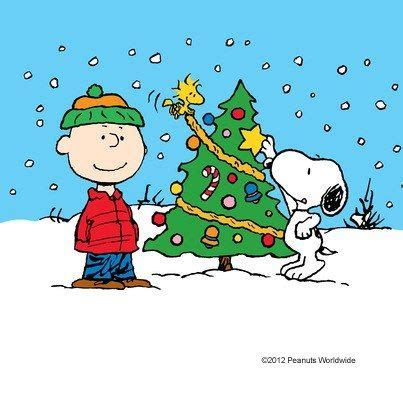 peanuts christmas charlie brown snoopy and woodstock