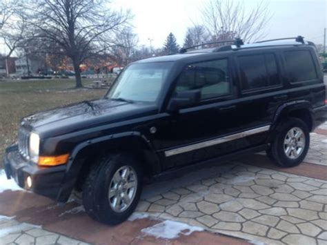 08 Jeep Commander Buy Used 08 Jeep Commander Limited 4x4 Hemi No Reserve