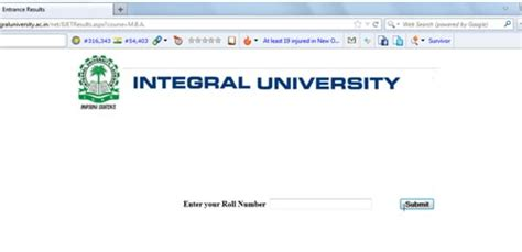 Integral Mba Placement by Iuet 2013 Mba Result Declared By Integral Lucknow