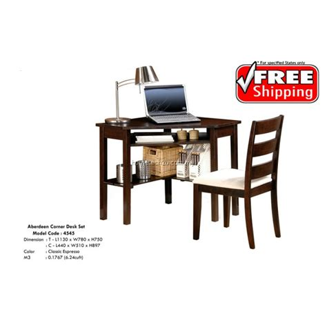 Corner Desk And Chair Corner Desk Table And Chair Set