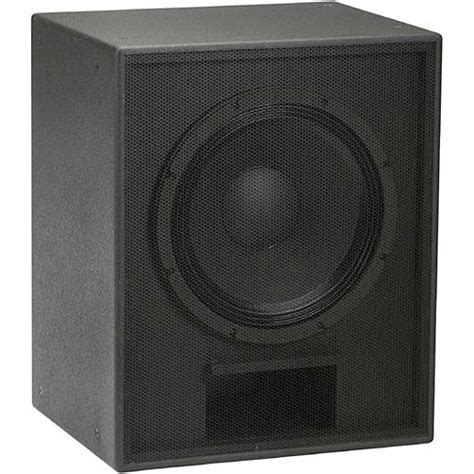 Speaker Eaw eaw vrs18 18 quot high output subwoofer speaker black 0010167