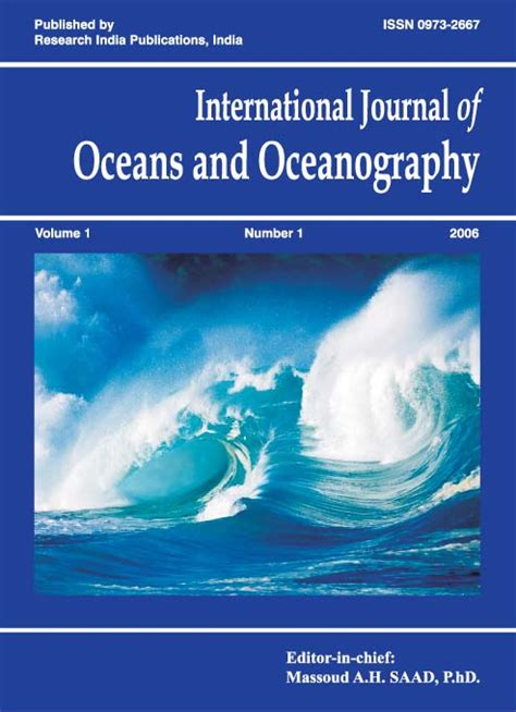 marine robotics and applications engineering oceanography books ijoo international journal of oceans and oceanography