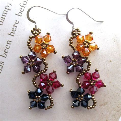 Handmade Jewelry Patterns - 25 best ideas about beaded flowers on beaded