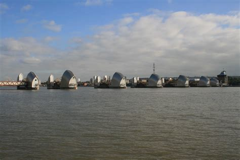 thames barrier high tide panoramio photo of thames barrier high tide
