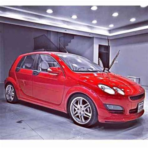 smart forfour brabus 2005, the car is in an amazing
