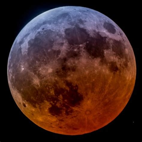 the lunar eclipse wasn't total after all?! sky & telescope