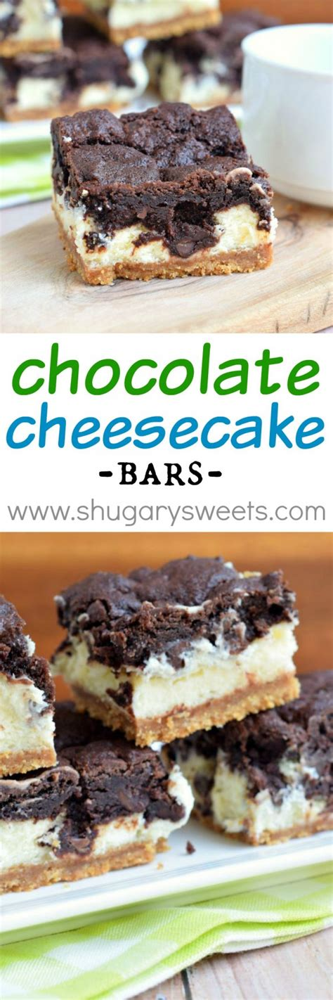 top 100 chocolate bars chocolate cheesecake bars by shugary sweets epicurious