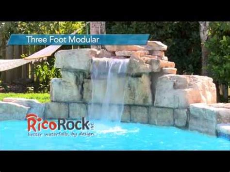 serenity pool waterfall installation youtube serenity pool waterfall installation funnycat tv
