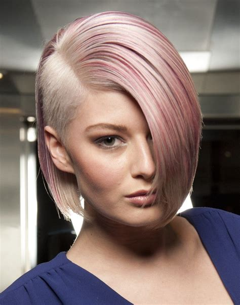 shave side bob celebrity trend 12 amazingly feminine side shaved