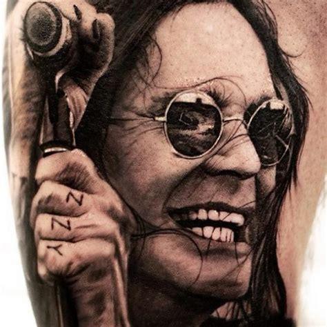 ozzy tattoos portrait realistic ozzy by studio 73