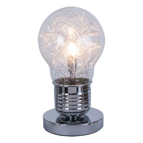 Le Mehrere Glühbirnen by Edison Tischleuchte Chrom Tischle Retro Gl 252 Hbirne