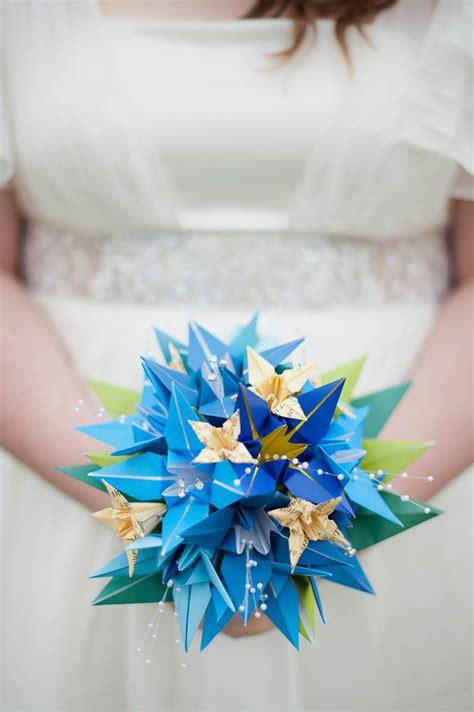 Origami Rock - an origami wedding ceri terry 183 rock n roll