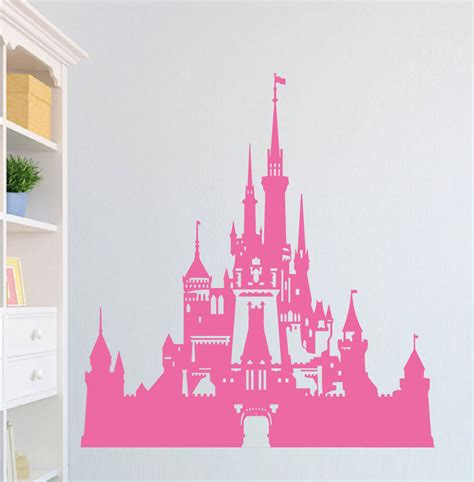 Tree Wall Murals For Nursery by Disney Castle Wall Sticker Vinyl Wall Art Decal Transfer