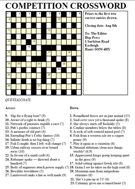 small boat xword hop press may 2006 south hants camra