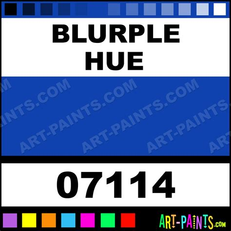 blurple color code blurple hyper base airbrush spray paints 07114 blurple
