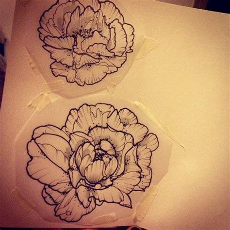 peonie tattoo peony ideas peonies