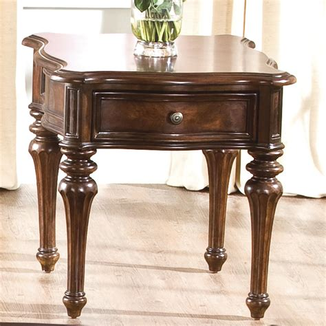 liberty furniture andalusia traditional end table sheely